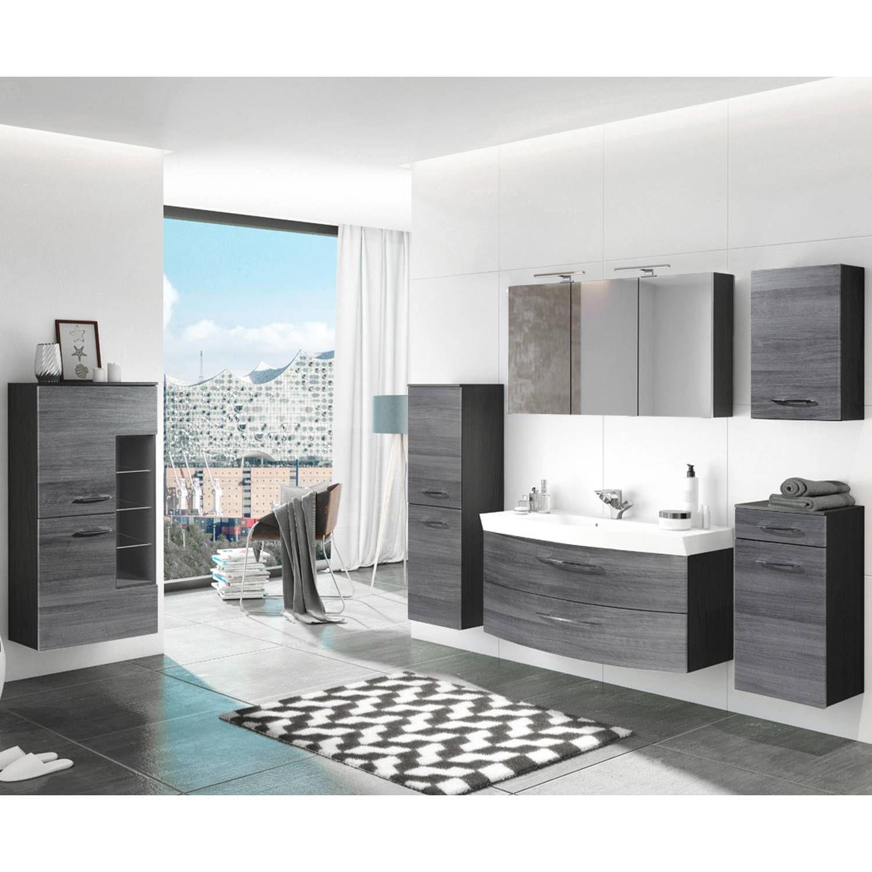 bad spiegelschrank mit beleuchtung günstig badmöbel set