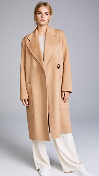 473b49a18e44 Acne Studios Carice Double Trench Coat