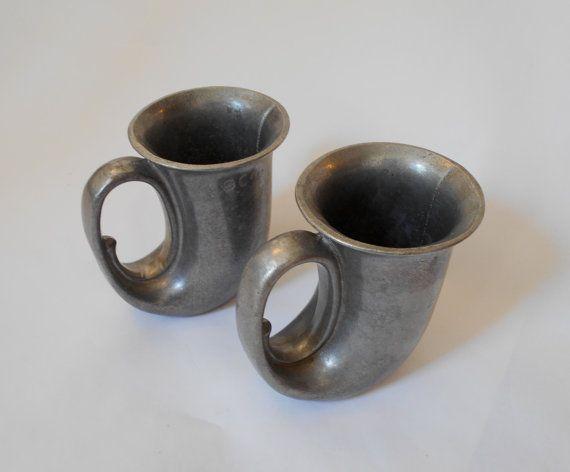 datant Mugs étain