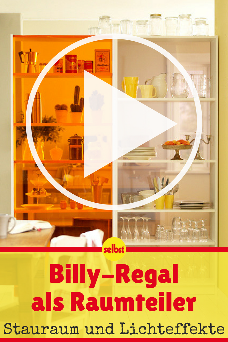 billy-regal aufpeppen | video-anleitungen | pinterest | billy regal
