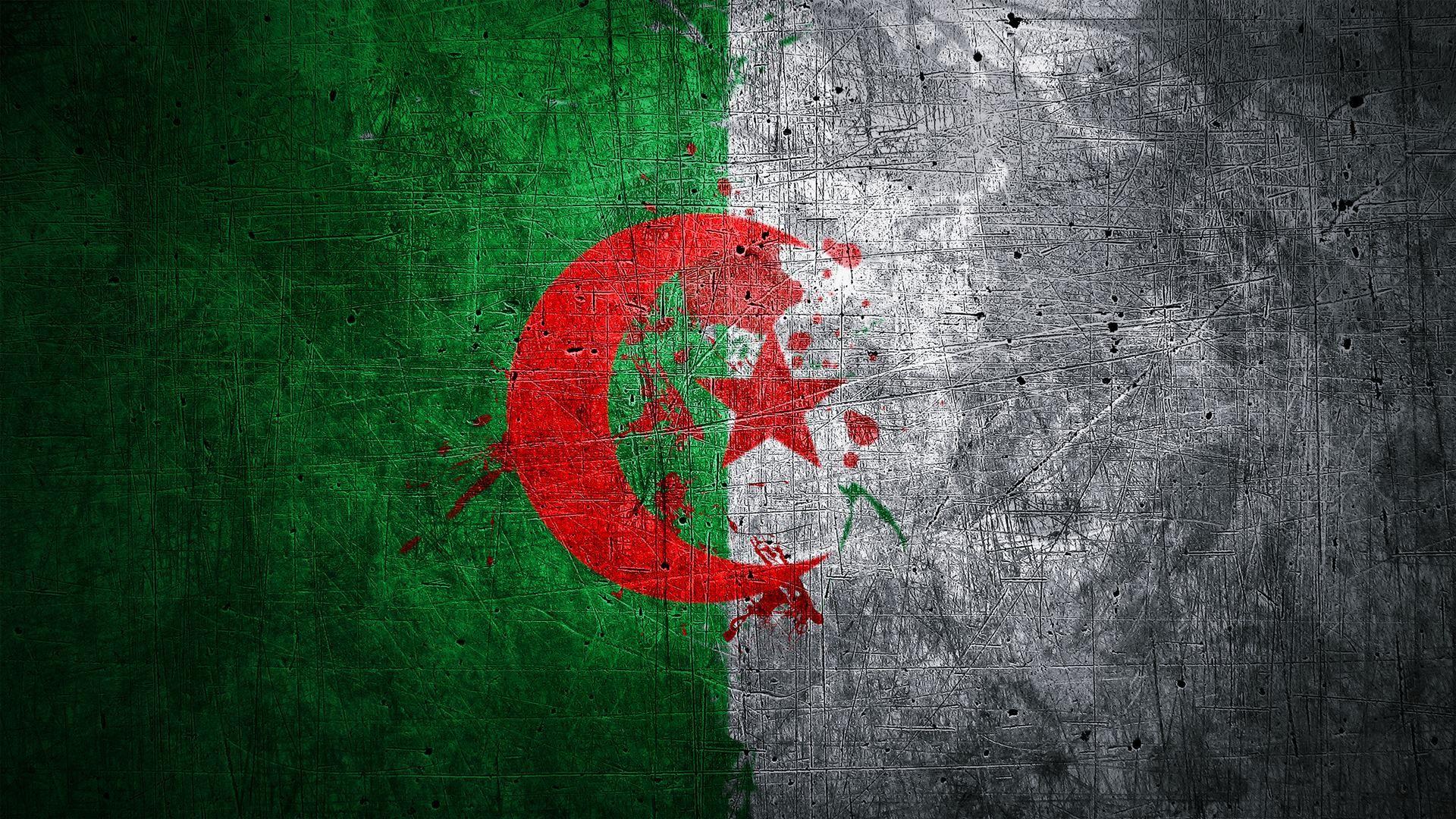 Algeria Flag Wallpaper En 2019 Drapeaux Nationaux Et Drapeau