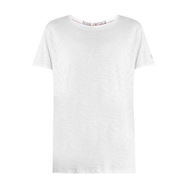 0b1ee28ed330 Todd Snyder + Champion Boyfriend crew-neck jersey T-shirt (346850 PYG)