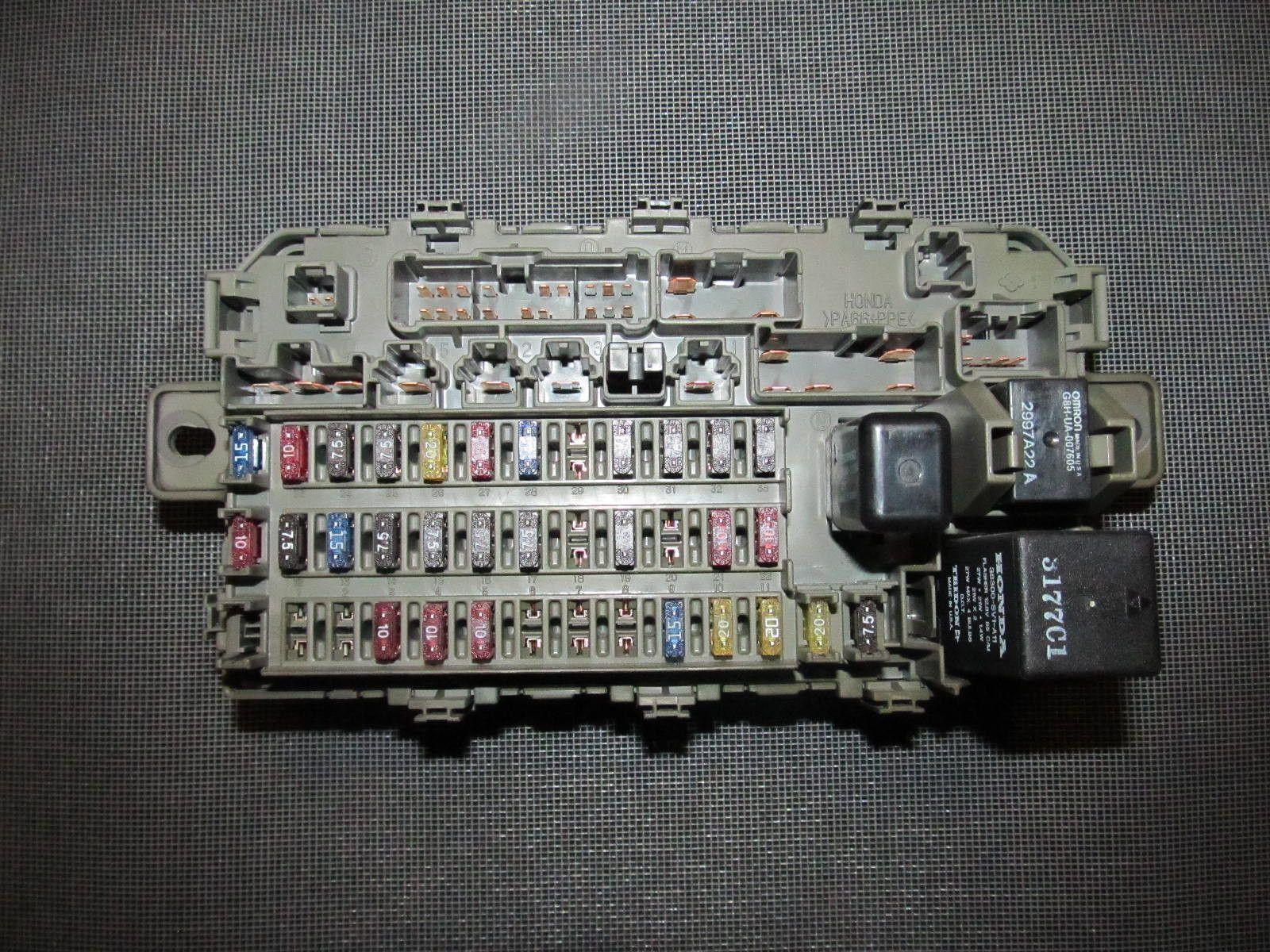 96 97 98 99 00 honda civic oem interior fuse box with relay 2000 honda civic [ 1600 x 1200 Pixel ]