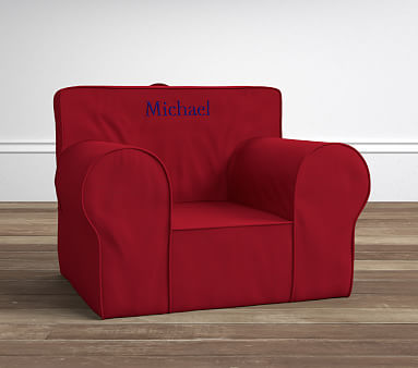 Anywhere Chair Insert New England Patriots Oversized Slipcover Set Red Kids R