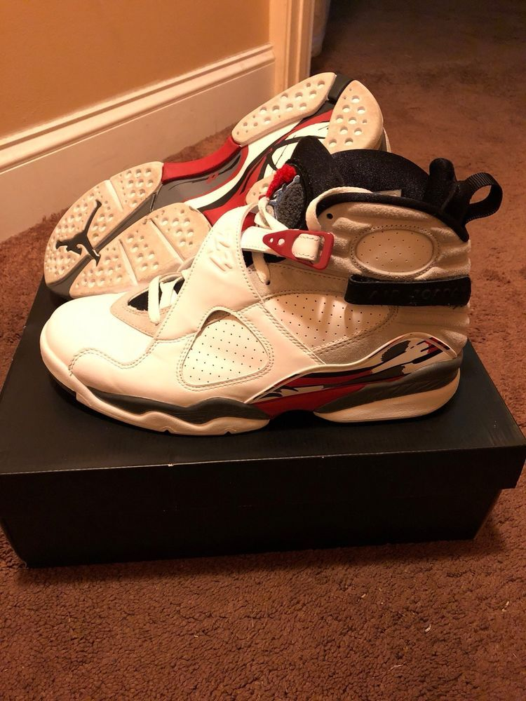 big sale 9e918 b4484 2013 Nike Air Jordan 8 Retro Bugs Bunny Size 10 White Black True Red 305381- 103  fashion  clothing  shoes  accessories  mensshoes  athleticshoes (ebay  link)