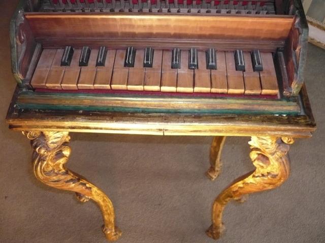 Italian Harpischord Appraisal Estimate Piano en Piano's