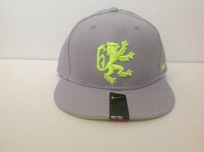 823901a5c266b Nike True Lebron King James Lion Hat Men s Snapback Gray Lime