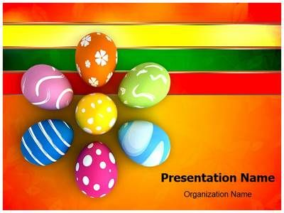 Download our professionally designed Easter eggs PPT template. This ...