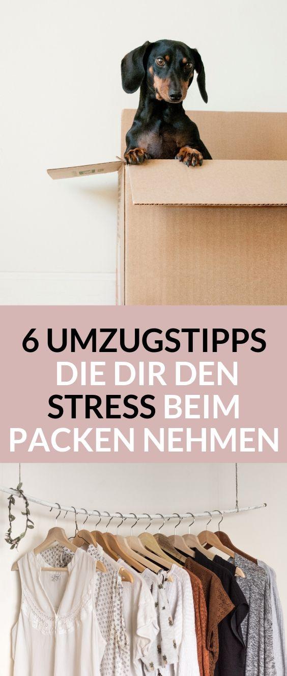 6 Umzugstipps, die dir den Stress beim Packen nehmen