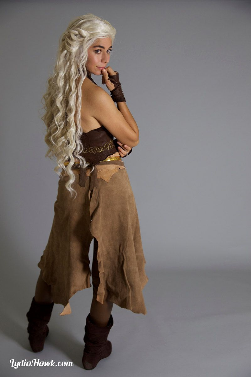 Lace Front Wig Wedding Style Long Curly Light Blonde Hair Halloween Costume Daenerys Khaleesi Game Of Thrones Cosplay Queen Series Blonde Hair Costumes White Blonde Hair Lace Front Wigs