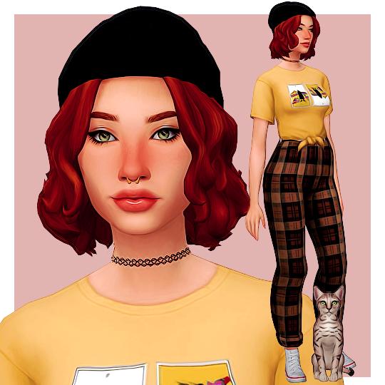 Beatriks Robertson Legkomyslennyj Meloman Knizhnyj Cherv Obzhora Sims 4 Characters Sims 4 Anime Sims 4 Toddler