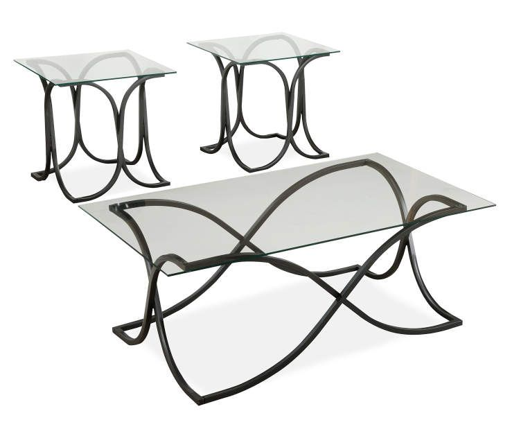 Glass Occasional Tables, 3-Piece Set At Big Lots.