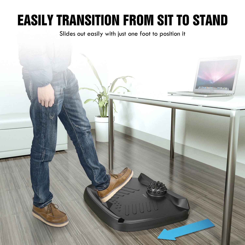 Standing Desk Mat Anypro Comfort Mat Notflat Ergonomic Comfort Anti Fatigue Mat With Foot Massage For S Standing Desk Mat Standing Desk Office Anti Fatigue Mat
