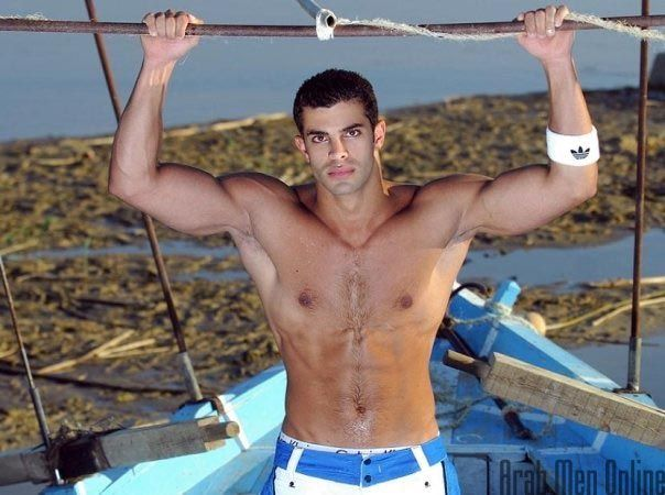 shirtless Sexy arab