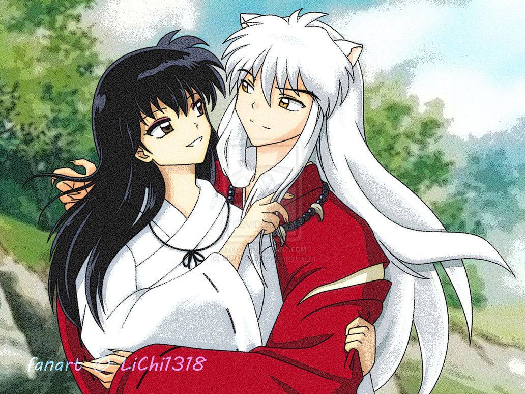 Inuyasha Loves Kagome Inuyasha X Kagome By Lichi1318 On