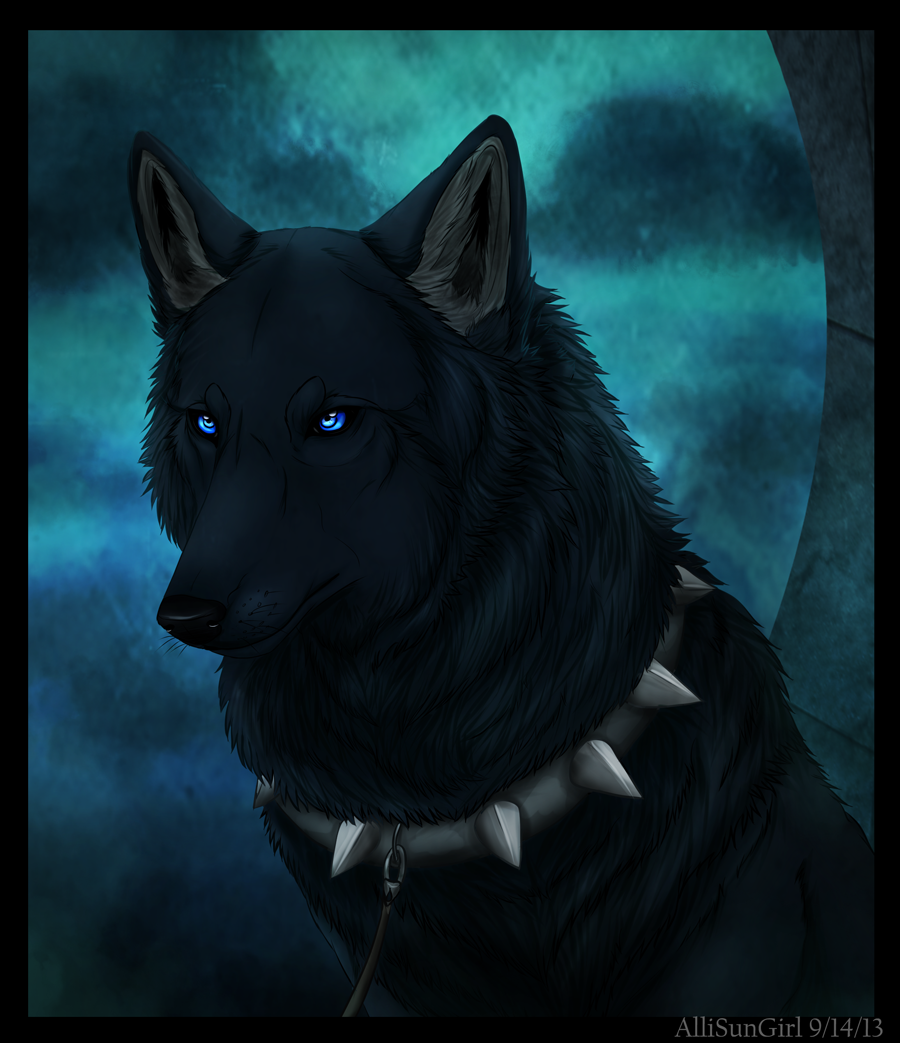 Wolf's Rain Blue By Featherhaze.deviantart.com On
