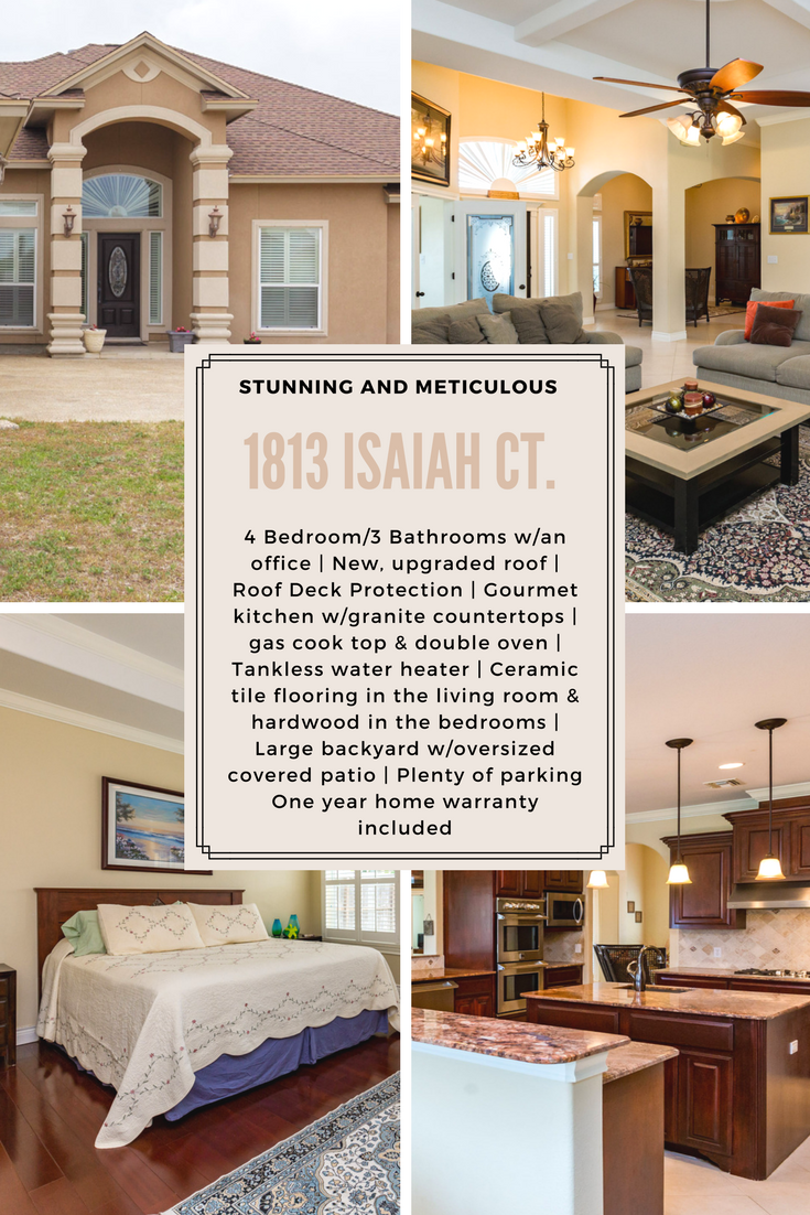Looking For A Place To Call Home In Corpus Christi Look No Further Than This Stunning Home Located In Flour Bluff Isd Lots Of Home Warranty Home Real Estate