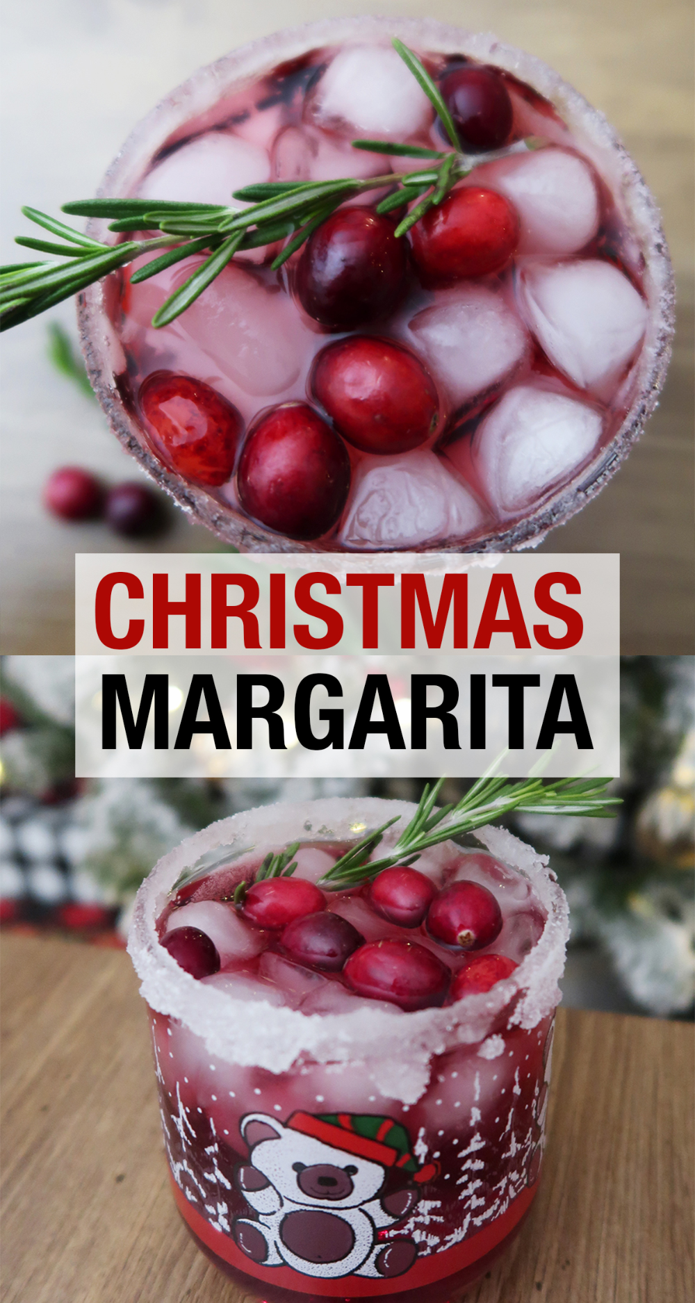 Christmas Margarita - Weekend Craft #christmasmargarita A festive twist on the classic margarita with cranberry and pomegranate. A recipe for a Christmas Margarita. Perfect to make a glass or a whole pitcher for a Christmas Party. #ChristmasCocktail #cocktails #ChristmasSpirit #ChristmasParty