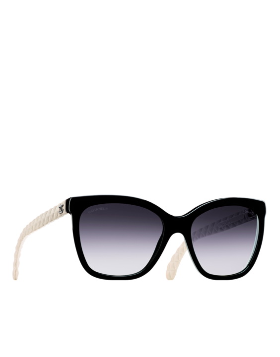 7ce7d033738 Butterfly acetate sunglasses with... - CHANEL