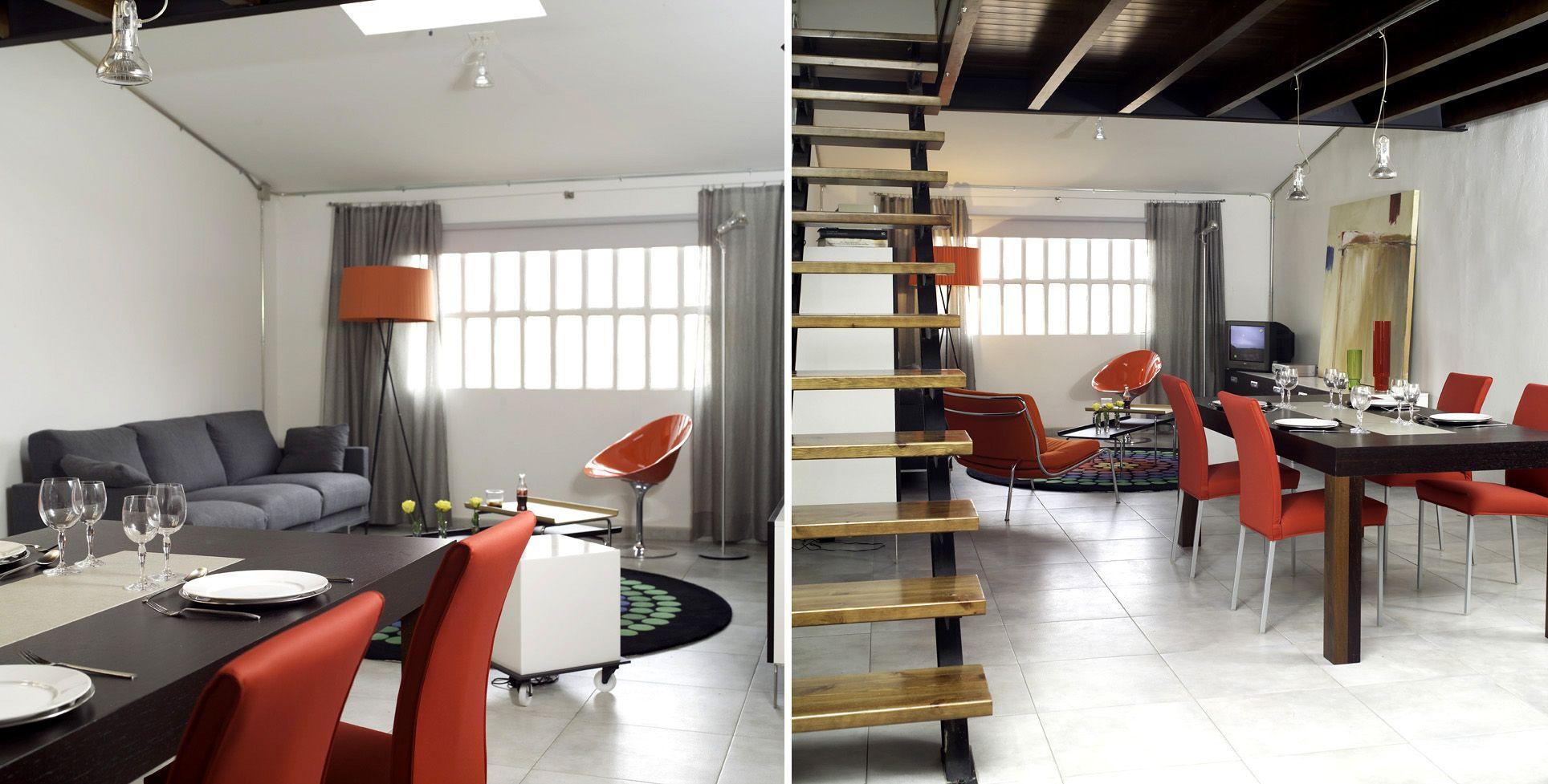 Decoracion moderno comedor antes y despues sillas - Centro de mesa de comedor moderno ...
