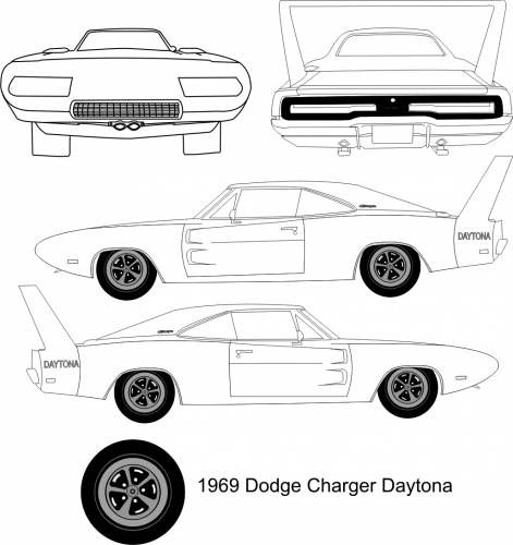 Dodge Charger Daytona 1969 Dodge Charger Daytona Dodge Charger Dodge Daytona