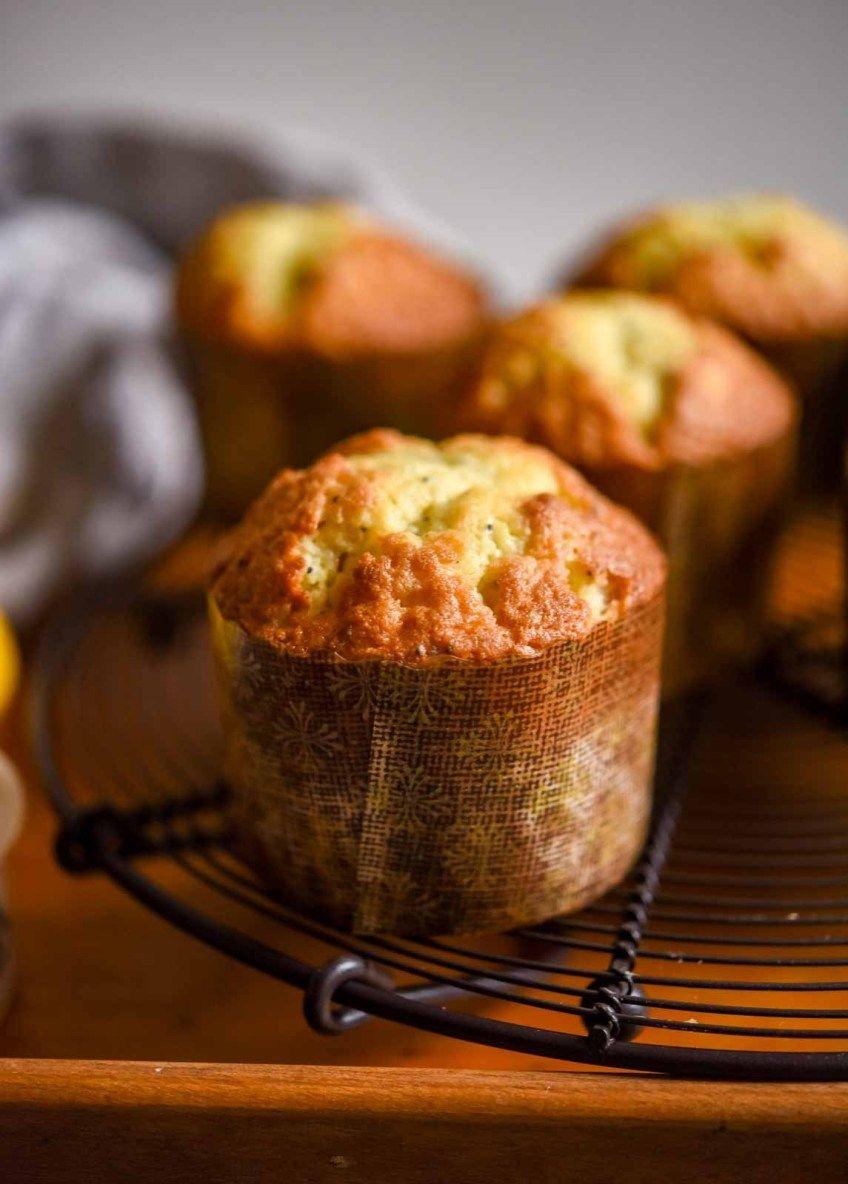 Lemon Poppy Seed Muffins Recipe in 2020 Lemon