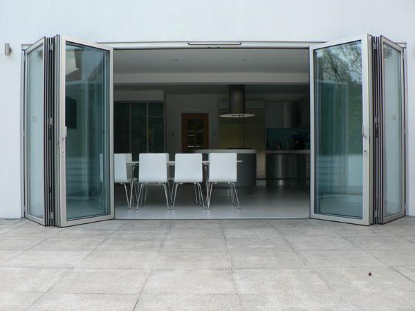 SF75 - thermally broken aluminium framed folding external doors | Sunflex UK & SF75 - thermally broken aluminium framed folding external doors ... pezcame.com