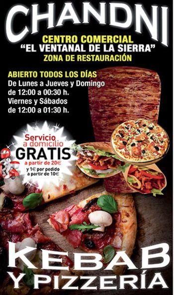 Doner Kebab En Colmenar Viejo Chandni Madrid Comida Shawarma