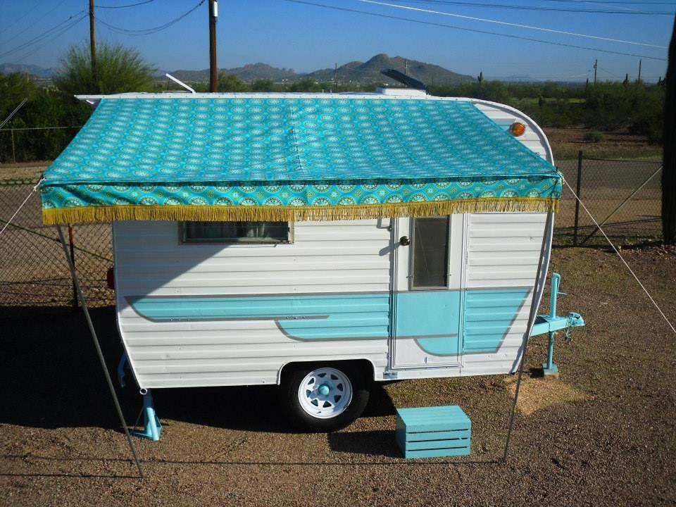 Love The Awning Vintage Caravans Vintage Travel