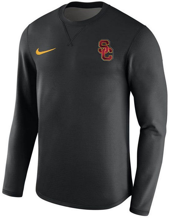 Black Crew SProducts Nike Sweatshirt Usc Modern Men's Trojans w80Nnm