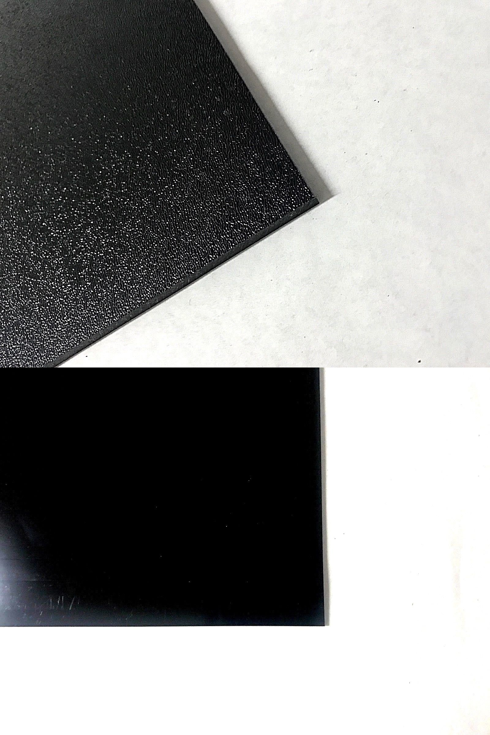 Other Crafts 75576 Abs Black Plastic Sheets You Pick The Size 1 2 4 8 Pack Options 1 Side Textured Buy It Now Only 11 4 On Plastic Sheets Texture Crafts