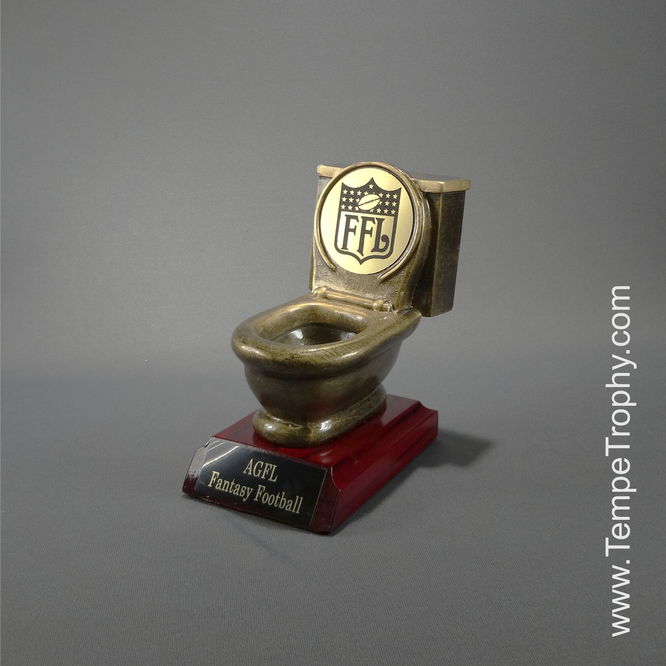 Fantasy football loosers trophy engravablez fantasy