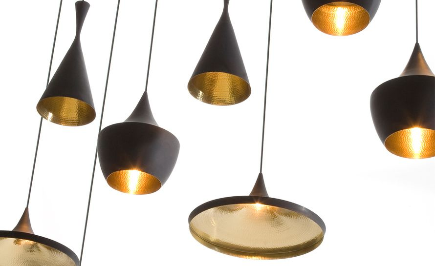 Beat Light Wide Pendant Light In 2020 Tom Dixon Lighting Tom Dixon Pendant Light Tom Dixon Beat Light