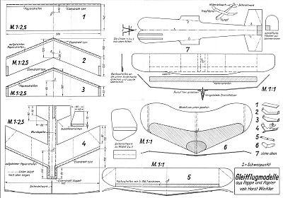 Bauplan Nr 13 Ruckseite Bauplan Planer Papierflieger
