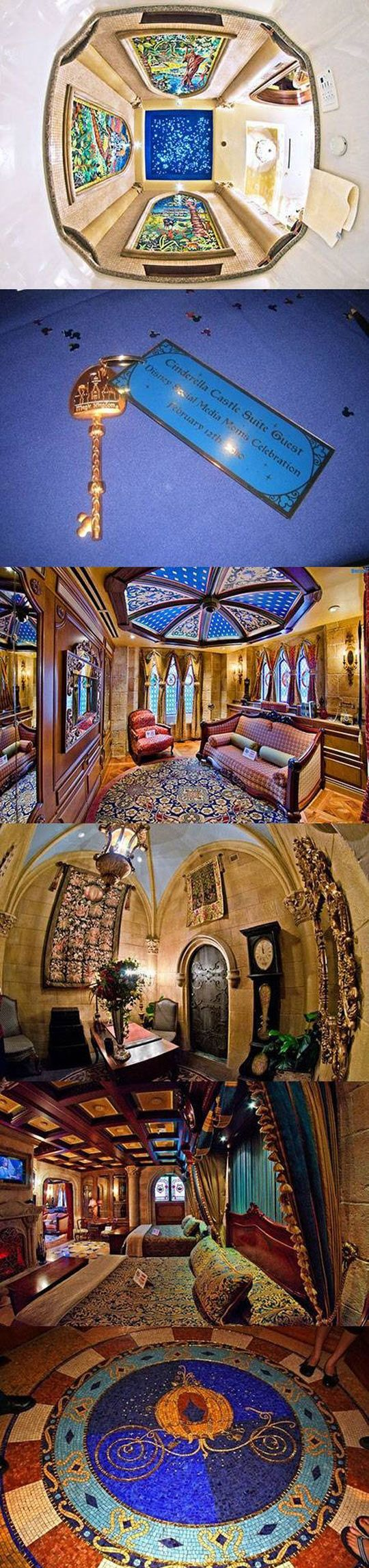 Inside Cinderella's Castle At Walt Disney World