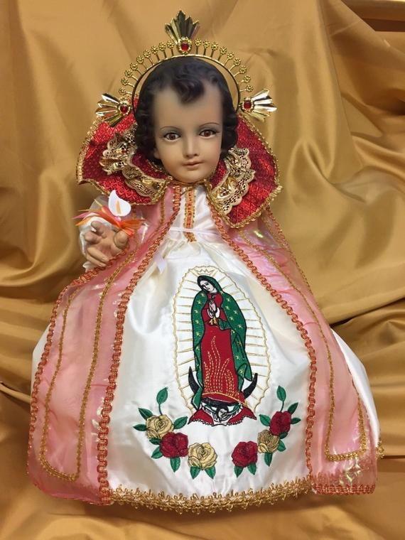 Guadalupano 2019 Ropa De Nino Diosbaby Jesus Dress Vestido Etsy Trajes De Nino Dios Ninos De Dios Nino Dios Vestido