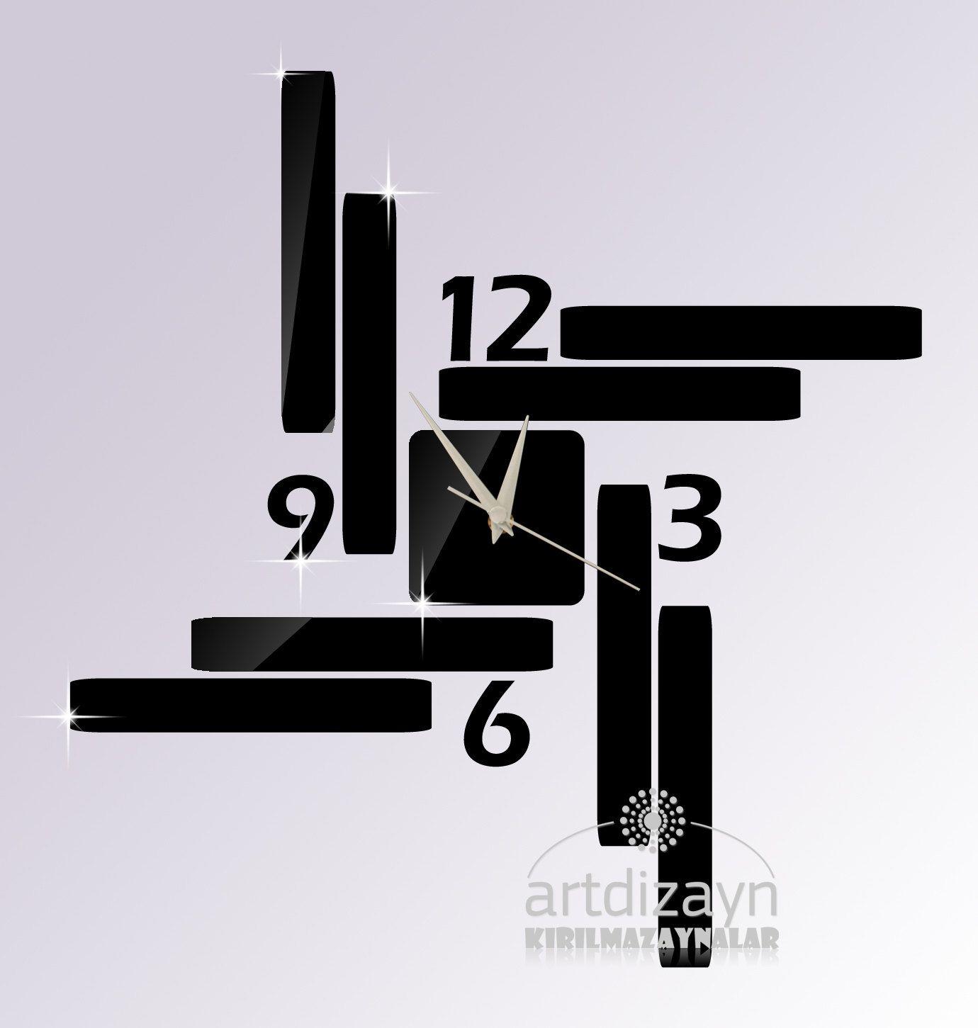 Kitchen Wall Clocks Modern Modern Wall Clock Black Wall Clock Shatterproof Large Wall Clock