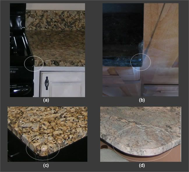 Clipped Square Rounded Corners On Countertops Quartz Kitchen