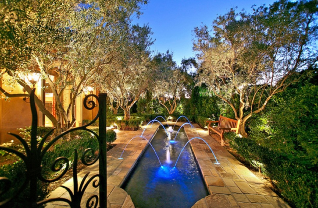 Mediterranean Mansion In Orange County With Awesome ...