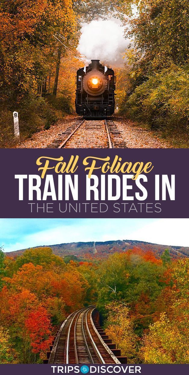 11 Best Fall Foliage Train Rides in the United Sta