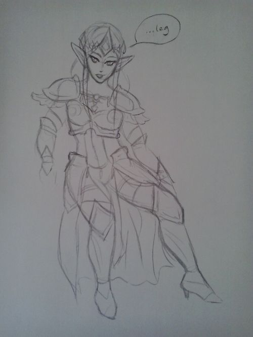 Hyrule Warriors - XD I Never draw anything Serious
