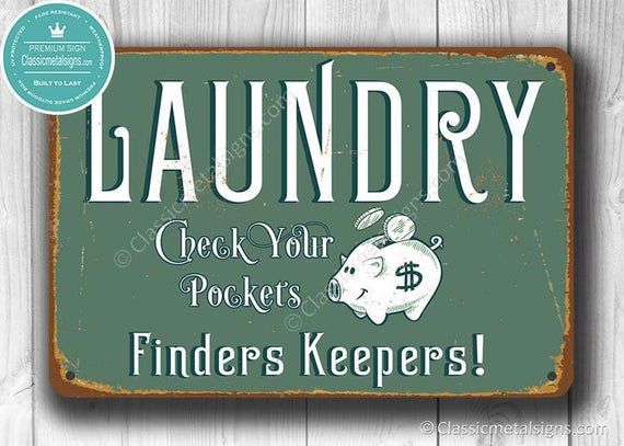 LAUNDRY SIGN, Laundry Signs, Vintage style Laundry Sign, Laundry Room Decor, Laundry Room, Laundry Room Sign, Laundry Room Art, LAUNDRY #laundrysigns