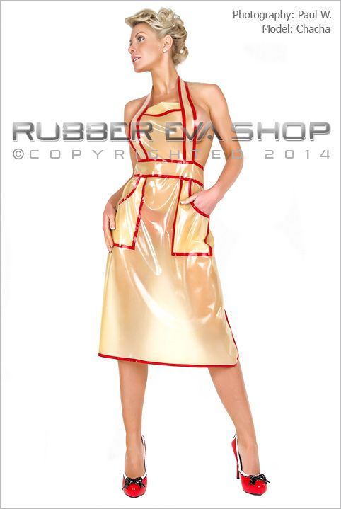 gwendolyn rubber apron rubber aprons rubber eva shop things to wear pinterest apron. Black Bedroom Furniture Sets. Home Design Ideas