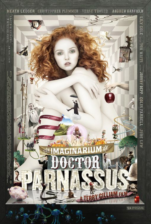 The Imaginarium of Doctor Parnassus movie poster - collected for www.thecautioustrain.blogspot.com