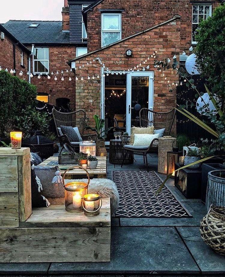 Pin by Lisa DiCicco on Home   Terrace garden design ...
