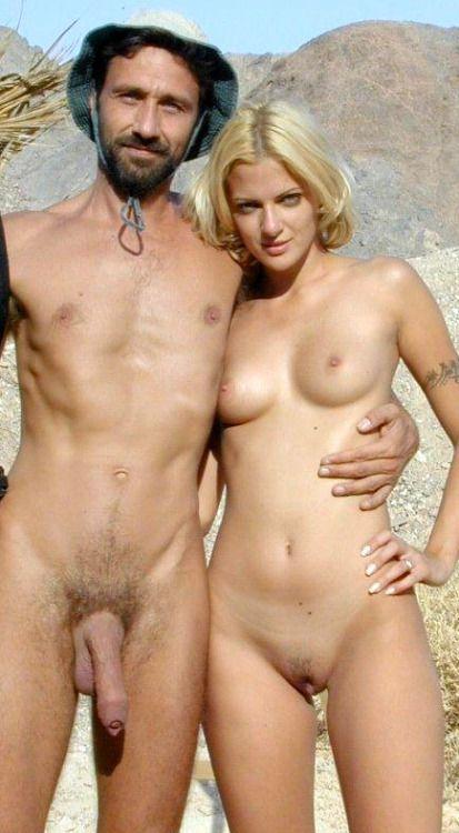 Nudist dinner party