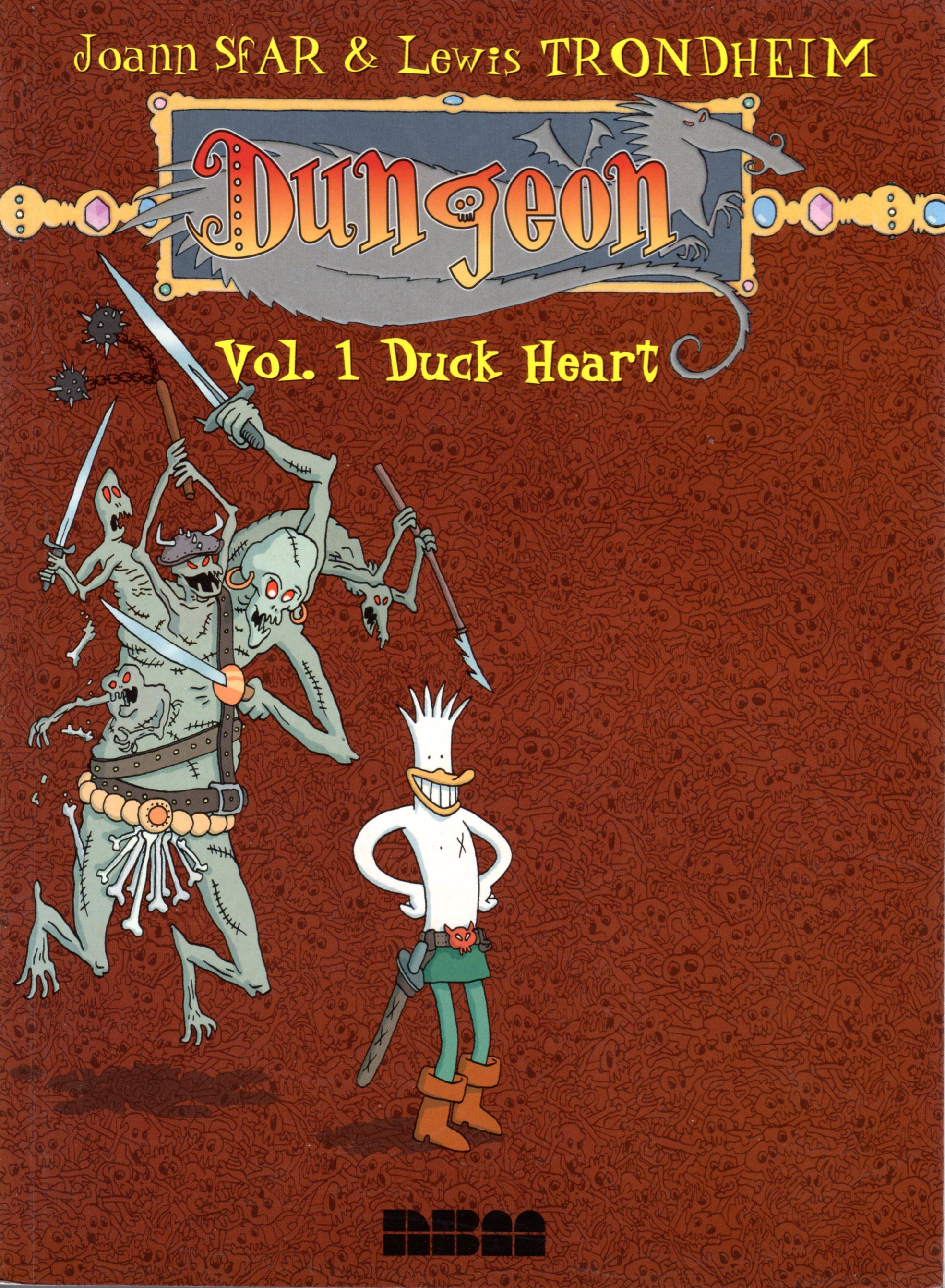 Dungeon Vol. 1 Duck Heart Joann Sfar & Lewis Trondheim
