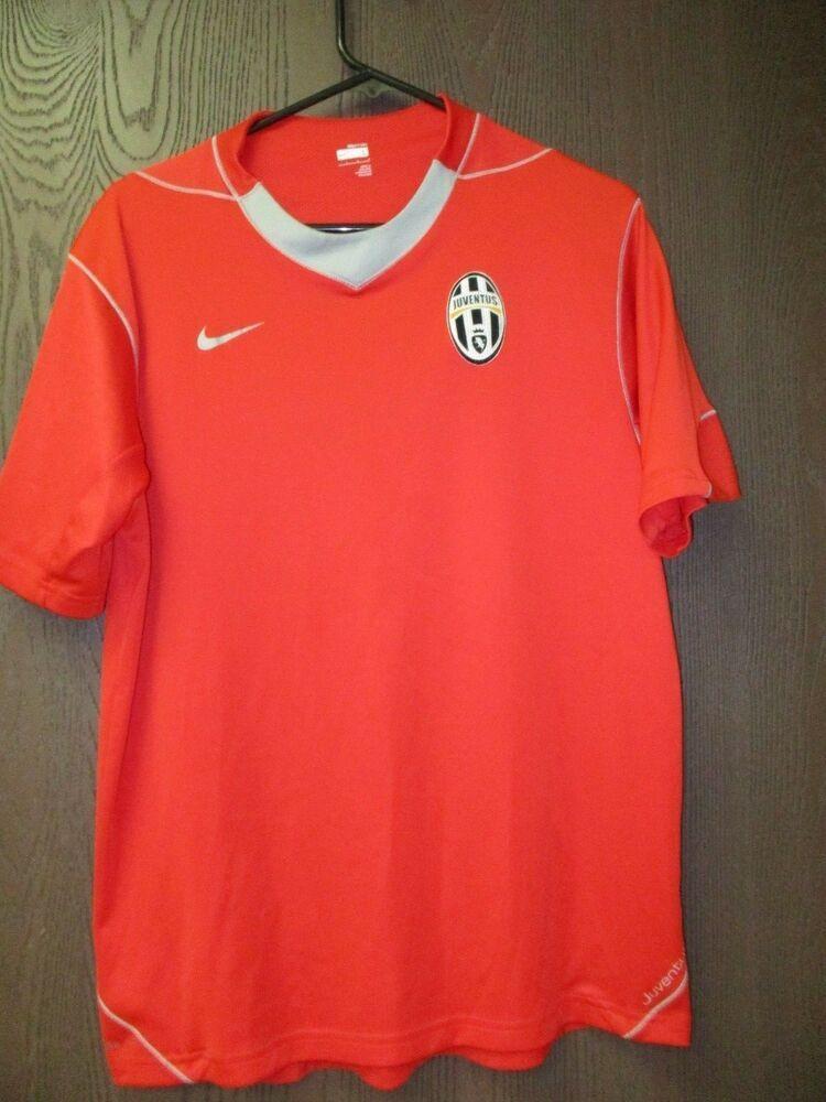 Men's Nike Juventus FC Italy Football 2008 - 2009 Soccer Jersey #Nike #Jerseys #Italy #soccer #JuventusFC #sportswear #mensfashion