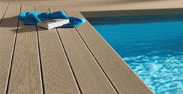 Wood Plastic Composite Wpc Tile For Swimming Pool Schwimmbecken Fliesen Schwimmen