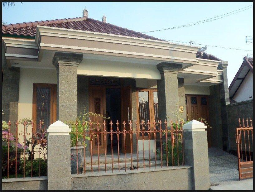 Desain Teras Rumah Kampung Minimalis Rumah Pedesaan Rumah Indah Lukisan Rumah